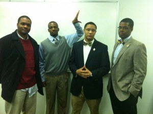 KL Bruhz at African American Town Hall Meeting 2012