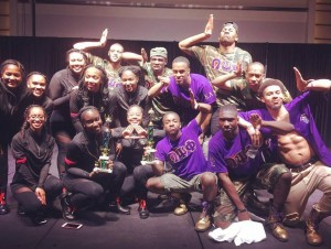 Kappa Lambda 2017 Step Show Champions w/ the Mu Omicron Chapter of Delta Sigma Theta