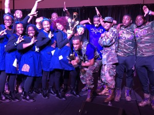 Kappa Lambda 2018 Step Show Champions w/ the Mu Xi Chapter of Zeta Phi Beta
